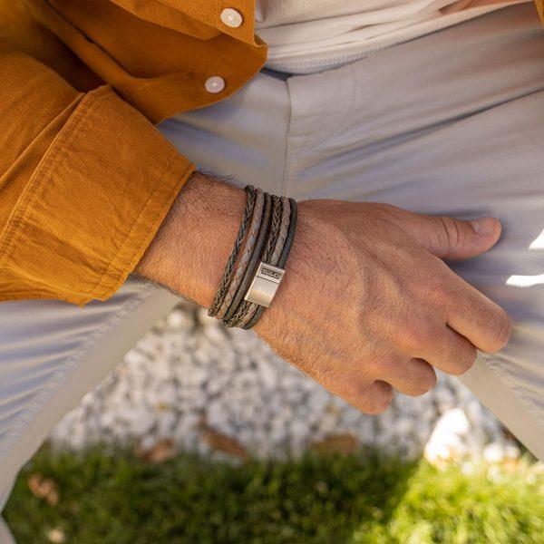 leder armband herren
